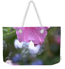 Soft Pink Weekender Tote Bag by Bonnie Myszka