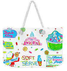 Soft Serve Weekender Tote Bag by Beth Saffer