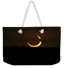 Solar Eclipse In Lubbock Texas Weekender Tote Bag