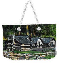 Soldiers Quarters At Valley Forge Weekender Tote Bag by Cindy Manero
