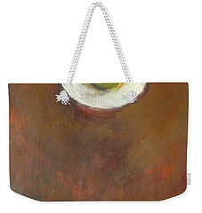 Weekender Tote Bag featuring the painting Solo by Kathleen Grace