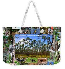 Southeastern Pine Forest Wildlife Poster Weekender Tote Bag