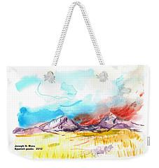 Spanish Peaks Study Weekender Tote Bag