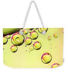 Sparkling Lime Weekender Tote Bag by Sharon Johnstone