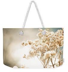Sparkly Weeds Weekender Tote Bag by Cheryl Baxter