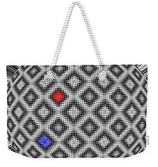 Weekender Tote Bag featuring the digital art Sphere Number 10 by George Pedro