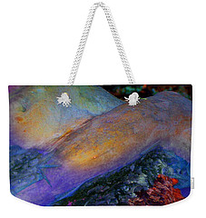 Weekender Tote Bag featuring the digital art Spirit's Call by Richard Laeton