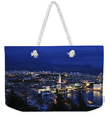 Weekender Tote Bag featuring the photograph Split Croatia by David Gleeson