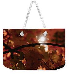Spotlight On Fall Weekender Tote Bag by Cheryl Baxter