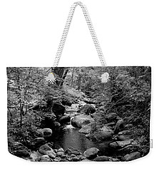 Weekender Tote Bag featuring the photograph Spring Creek by Kathleen Grace