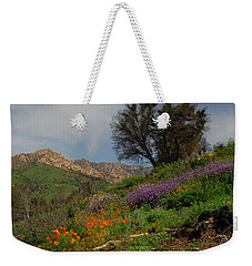 Weekender Tote Bag featuring the photograph Spring In Santa Barbara by Lynn Bauer