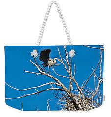 Springtime Nesting In Colorado Weekender Tote Bag