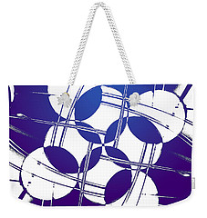 Square Circles Weekender Tote Bag
