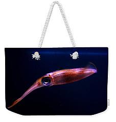Squid In Pink Weekender Tote Bag
