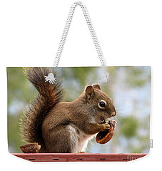 Squirrel And His Walnut Weekender Tote Bag