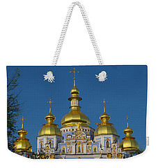 Weekender Tote Bag featuring the photograph St. Michael's Cathedral by David Gleeson