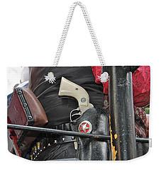 Stagecoach Guard Weekender Tote Bag by Bill Owen