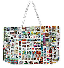 Stamparely Weekender Tote Bag by Anna Ruzsan