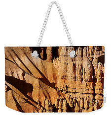 Weekender Tote Bag featuring the photograph Stand Tall by Vicki Pelham