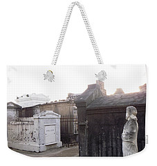 Weekender Tote Bag featuring the photograph Standing Guard by Alys Caviness-Gober