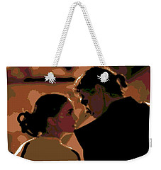 Star Crossed Lovers Weekender Tote Bag by George Pedro