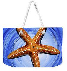 Star Of Mary Weekender Tote Bag