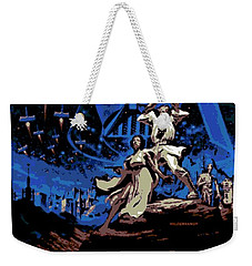 Star Wars Poster Weekender Tote Bag by George Pedro