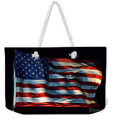 Stars And Stripes At Night Weekender Tote Bag by Kevin Fortier