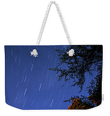 Stars Falling Weekender Tote Bag by Kay Lovingood