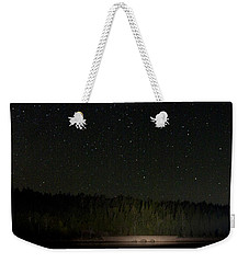 Stars Over Otter Cove Weekender Tote Bag