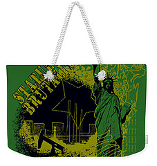 Statue Of Brutality  Weekender Tote Bag by Tony Koehl