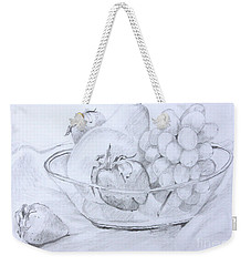 Still Life With Fruit Weekender Tote Bag