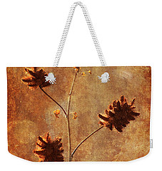 Still Standing Weekender Tote Bag by Alyce Taylor