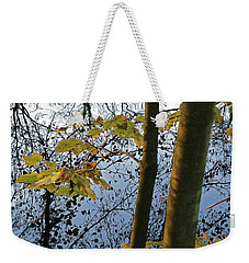 Still Waters In The Fall Weekender Tote Bag