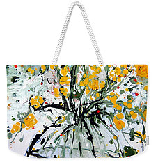 Stop And Smell The Flowers Weekender Tote Bag