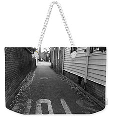 Weekender Tote Bag featuring the photograph Stop by Andrea Anderegg