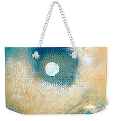 Weekender Tote Bag featuring the painting Storm by Ana Maria Edulescu