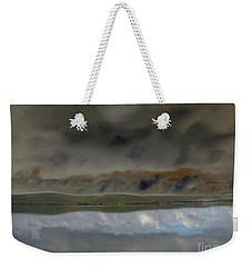 Storm On Land Weekender Tote Bag