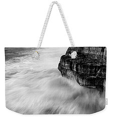 Weekender Tote Bag featuring the photograph Stormy Sea 1 by Pedro Cardona