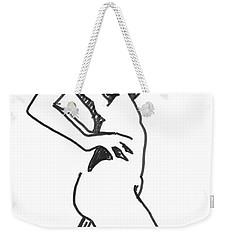 Stride Weekender Tote Bag