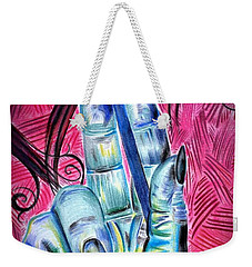 Strokes Of My Soul...  The Life Of An Artist Weekender Tote Bag