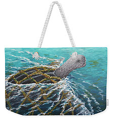 Struggle -leatherback Sea Turtle Weekender Tote Bag