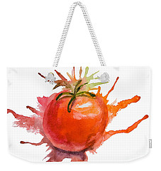 Stylized Illustration Of Tomato Weekender Tote Bag