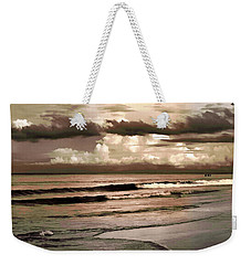 Weekender Tote Bag featuring the photograph Summer Afternoon At The Beach by Steven Sparks
