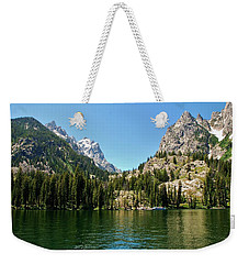 Summer Day At Jenny Lake Weekender Tote Bag