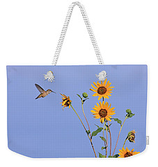 Summer Day Hummingbird Weekender Tote Bag