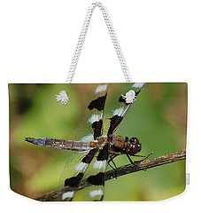 Summer Dragonfly Weekender Tote Bag