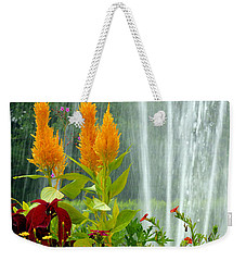 Summer Spray Weekender Tote Bag by Michelle Joseph-Long