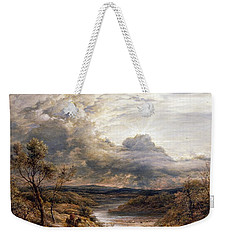 Sun Behind Clouds Weekender Tote Bag