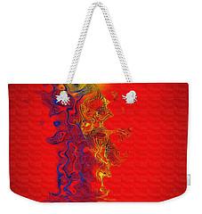 Weekender Tote Bag featuring the digital art Sundance by Vicki Pelham